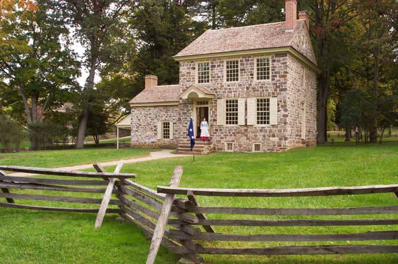 General Washington's Headquarters, Valley Forge National Military Park, Pennsylvania