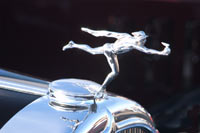 1932 Buick Model 95 Sport Phaeton Classic Car and Automobile Mascots