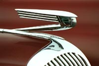 1936 Buick Model 46 - Classic Car and Automobile Mascots