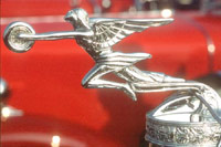1932 Packard Classic Car and Automobile Mascots
