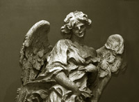 Angel - Saint Peter's Cathedral the Vatican Rome Italy